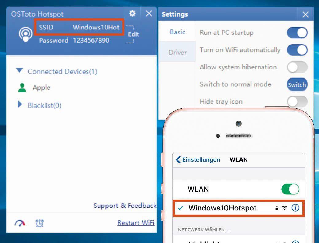 WLAN ohne Router - unterwegs drahtlos mit dem Laptop ins Netz - PC-WELT