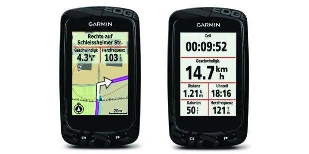 garmin edge 810 fahrrad und sport navi im praxistest pc