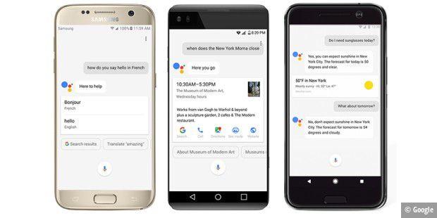 google assistant f r alle android ger te pc welt. Black Bedroom Furniture Sets. Home Design Ideas