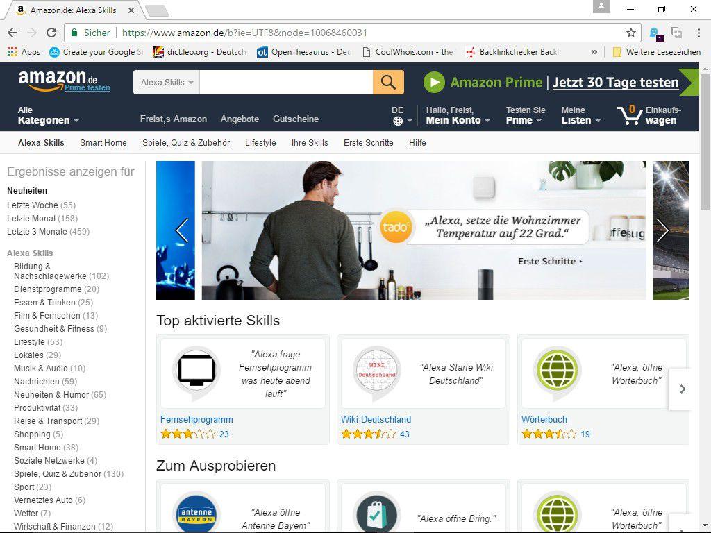 Amazon Echo Die 12 Besten Alexa Skills Pc Welt