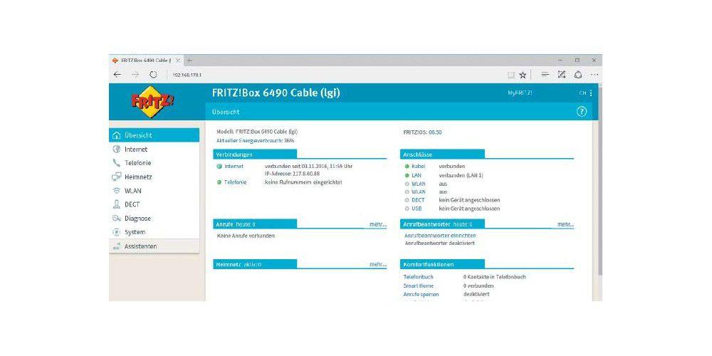 Kabel-Internet mit der Fritzbox einrichten - PC-WELT
