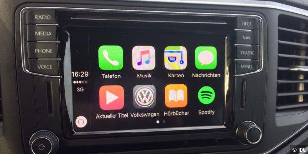 Carplay im Amarok.