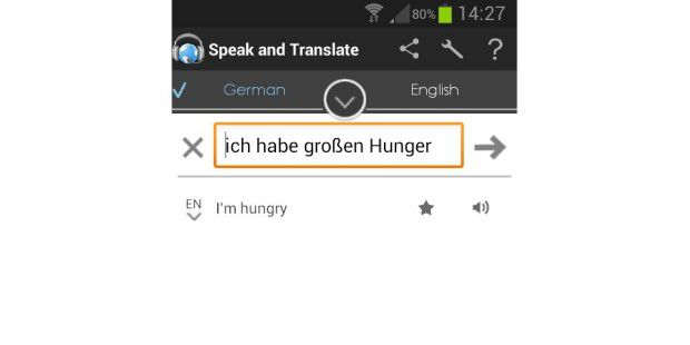 Übersetzer Speak & Translate