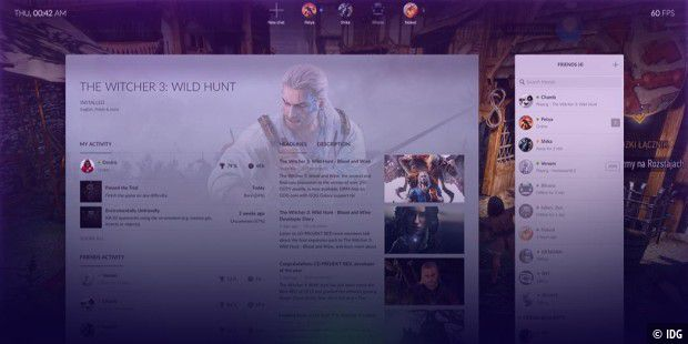 Steam-Konkurrent: Gog Galaxy 1.2 bringt Spielstände in der Cloud