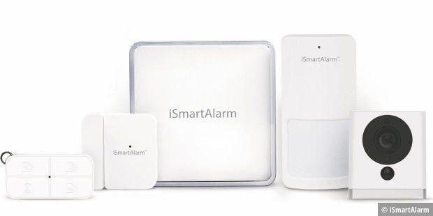ismartalarm essential pack sicherheitssystem f rs zuhause pc welt. Black Bedroom Furniture Sets. Home Design Ideas