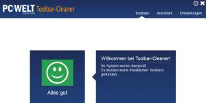 PC-WELT Toolbar Cleaner