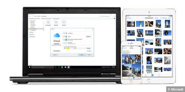Outlook und iCloud unter Windows verbinden