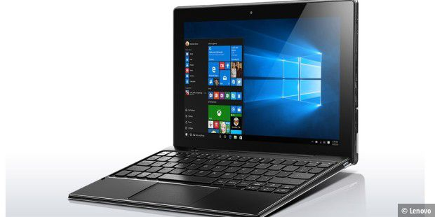 lenovo ideapad miix 310 pro im test pc welt. Black Bedroom Furniture Sets. Home Design Ideas