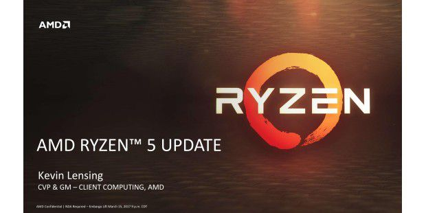 AMD Ryzen 5 Update