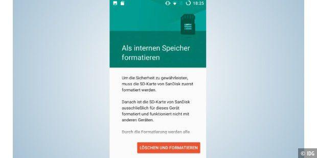 Externe Sd Karte Als Internen Speicher Nutzen.Android Speicher Voll So Lagern Sie Ihre Daten Aus Pc Welt