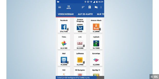 Bilder Auf Sd Karte Verschieben S8.Android Speicher Voll So Lagern Sie Ihre Daten Aus Pc Welt