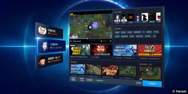 Die Tencent Games Platform soll international expandieren.