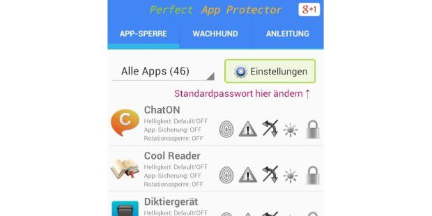 Perfect App Lock (Deutsch)