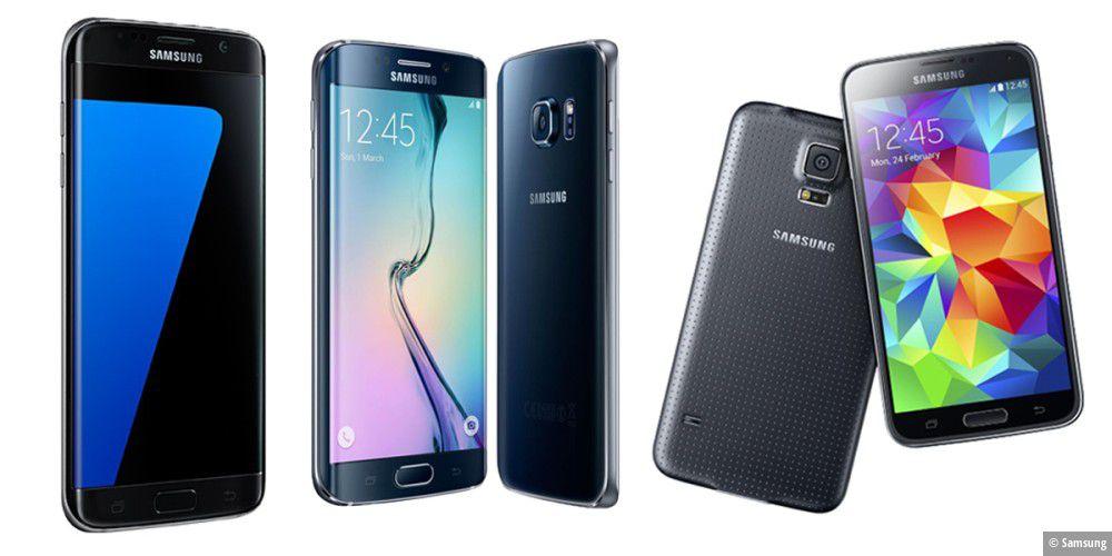 Galaxy S6, S7 & Co: Samsung Handys günstig kaufen ohne