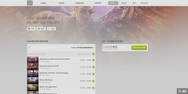 Saints Row 2 gratis zum Download auf Gog com - PC-WELT