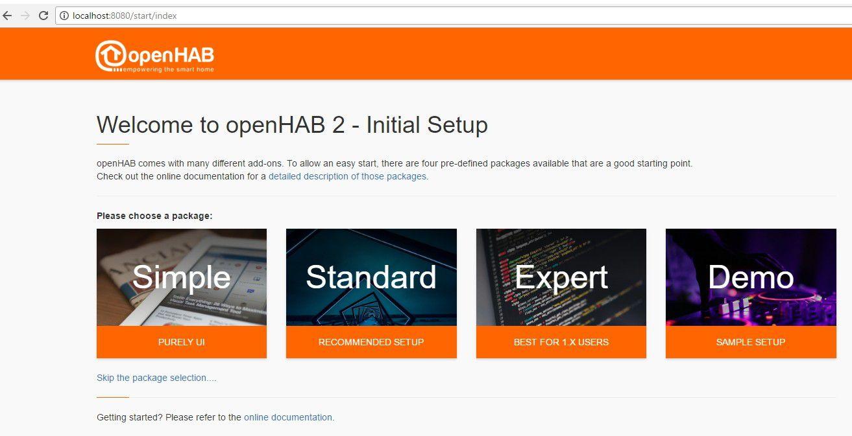 Vergrößern Um Ein Smart Home Mit Openhab 2 Zu Konfigurieren Aktivieren Sie Zunächst Das Standard Paket