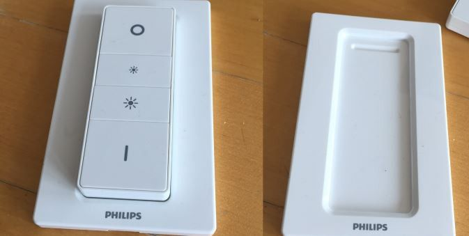 philips hue wireless dimming kit im test pc welt. Black Bedroom Furniture Sets. Home Design Ideas