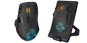 Wireless-Gaming-Maus: Roccat Leadr im Hands-on
