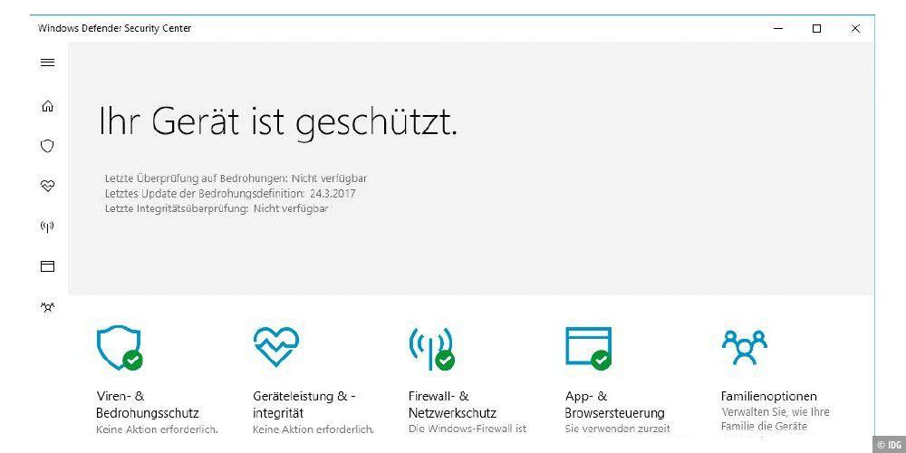 Windows 10 Die Neuen Sicherheitsfeatures Im Creators Update Pc Welt