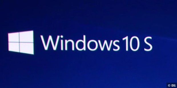 Die Windows-10-Familie hat einen Neuzugang: Windows 10 S.