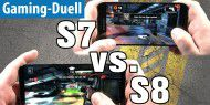 Galaxy S7 vs. S8 im Gaming-Duell mit dem Shooter Dead Trigger 2
