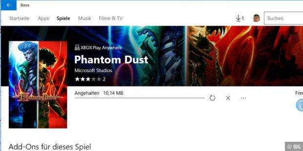 Phantom Dust steht im Windows Store zum Download bereit