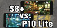 Gaming-Duell: Huawei P10 Lite vs. Galaxy S8+ im FPS-Test