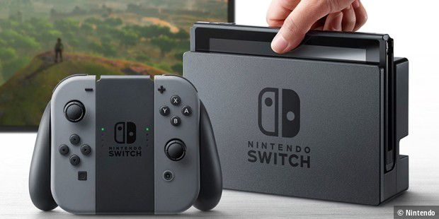 Die Spielkonsole Nintendo Switch verkauft sich blendend