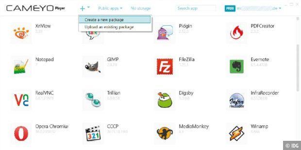 Cameyo: Beliebige Anwendungen portabel machen - PC-WELT