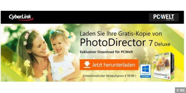 Wir schenken Ihnen: Cyberlink Photo Director 7 Deluxe