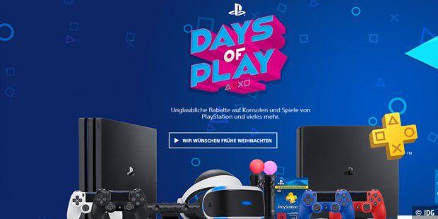 Sony: Rabattaktion auf Spiele, Konsolen und Zubehör
