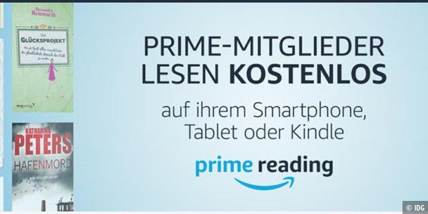 amazon prime reading startet das bietet der service pc welt. Black Bedroom Furniture Sets. Home Design Ideas
