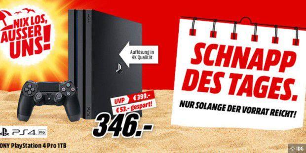 Media Markt Playstation 4 Pro Zum Schnäppchen Preis Pc Welt