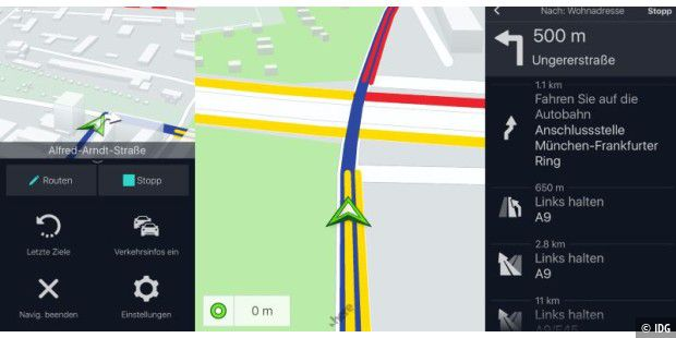 Here We Go im Test: Gratis-Navigation mit Offline-Karten und