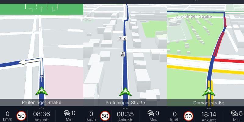 routenplaner kostenlos geschwindigkeit einstellen