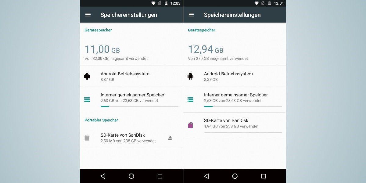 sd karte als internen speicher formatieren SD Karte als interner Android Speicher: Was bringt die Technik