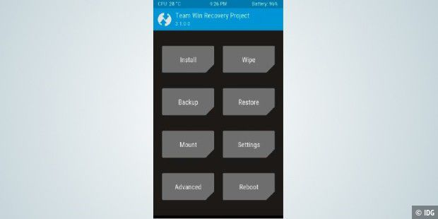 TWRP: Custom-Recovery-Lösung für Android voll im Griff - PC-WELT