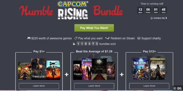 Humble Capcom Bundle