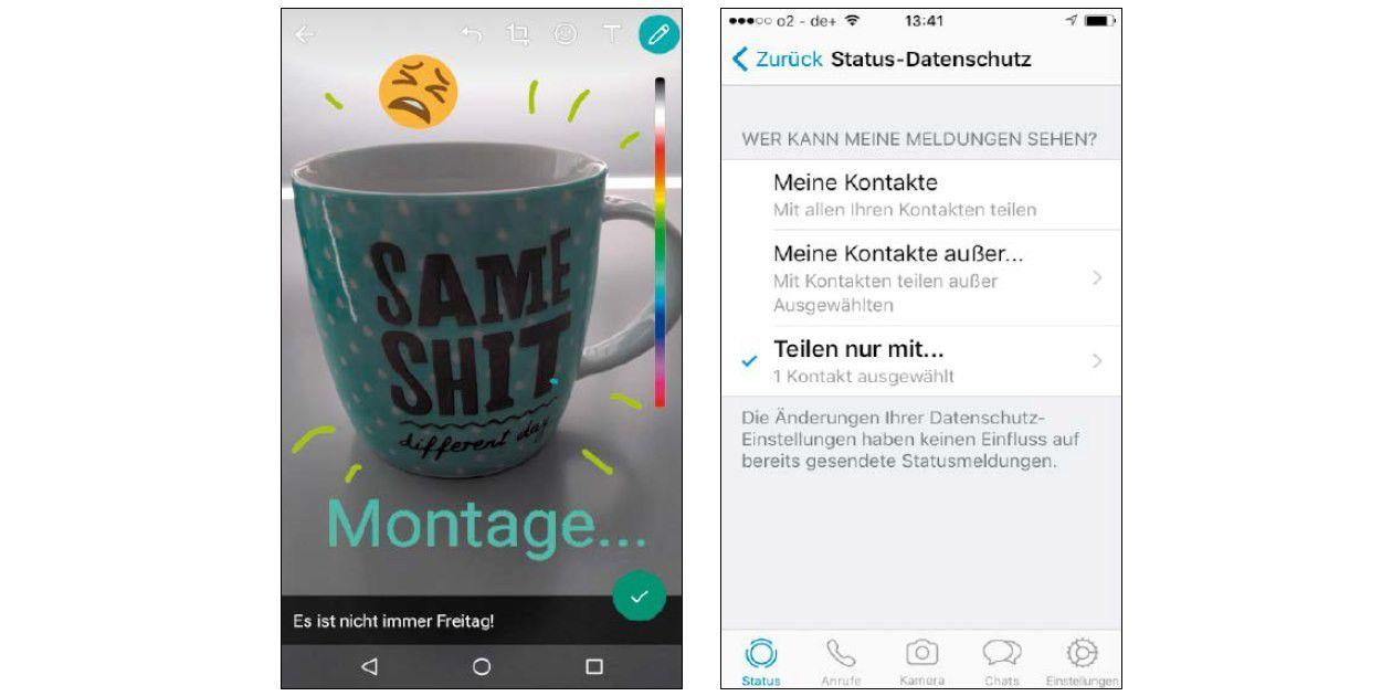 So Können Sie Ihren Whatsapp Status Bearbeiten Pc Welt