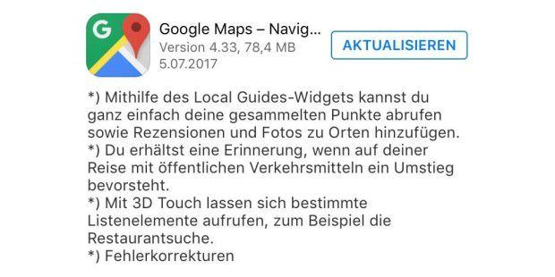 google maps im test gratis navigation mit exakten. Black Bedroom Furniture Sets. Home Design Ideas