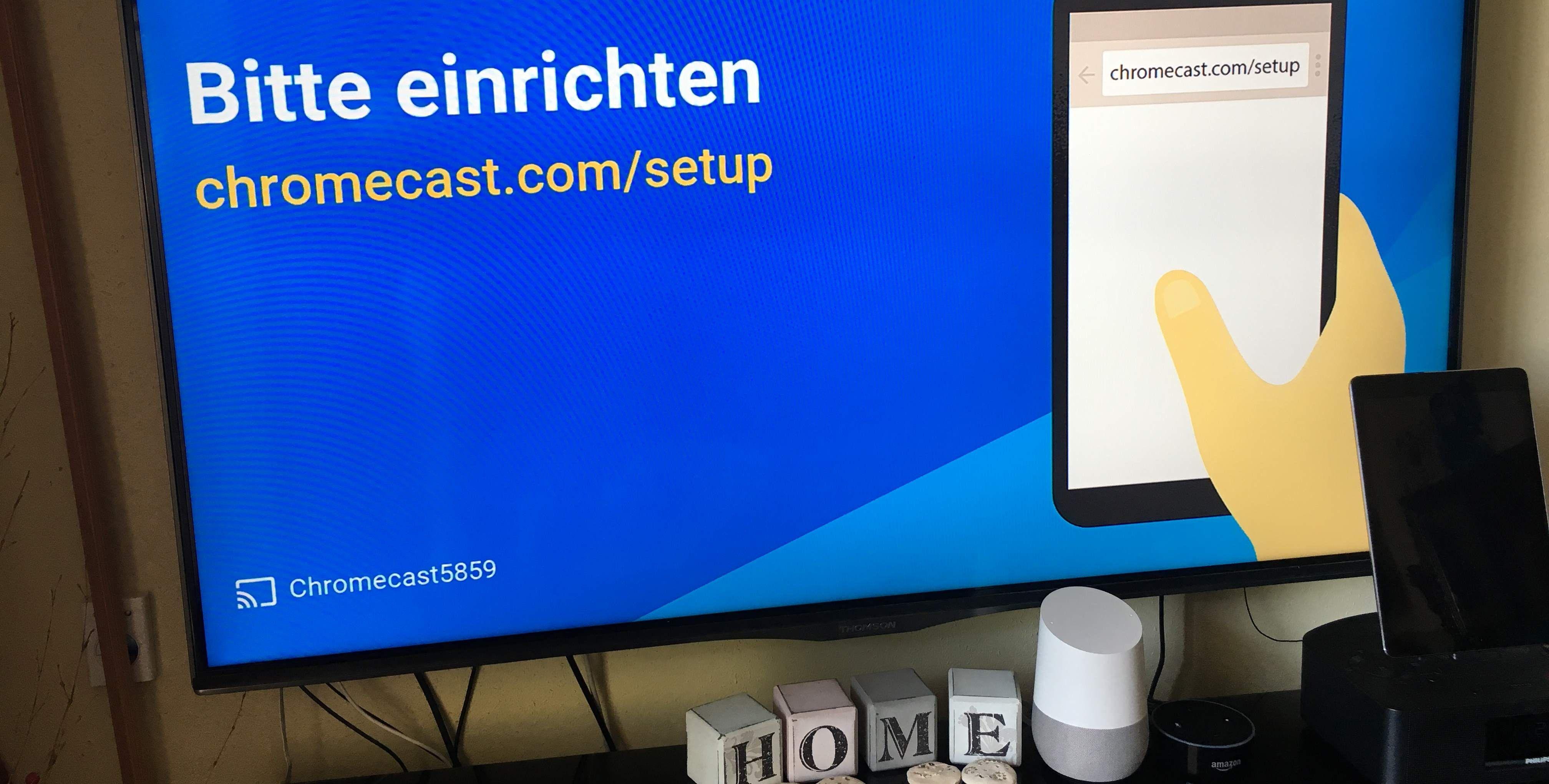 google home chromecast im test schlauer als alexa pc welt. Black Bedroom Furniture Sets. Home Design Ideas