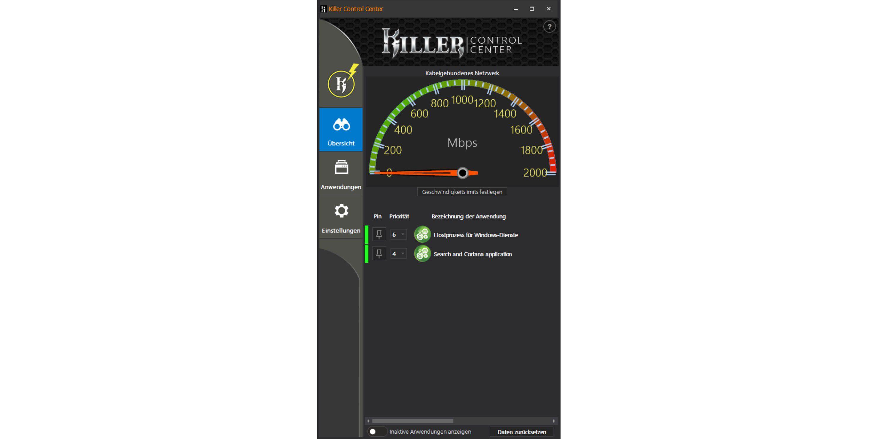 Rivet Networks Killer E2500 im Praxistest - PC-WELT