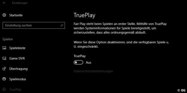 True Play: Neue Anti-Cheat-Funktion für Windows 10
