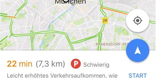 Google Maps im Test: Gratis-Navigation mit exakten ...