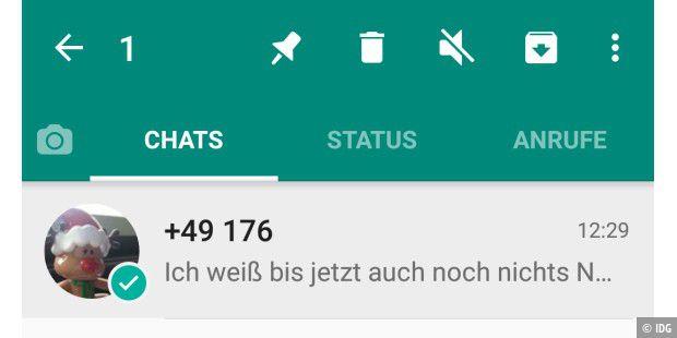 Kontakte In Whatsapp Löschen Wiederherstellen Blockieren