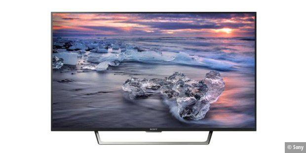Full-HD-TV Sony KDL-49WE755 mit überzeugender Bildqualität