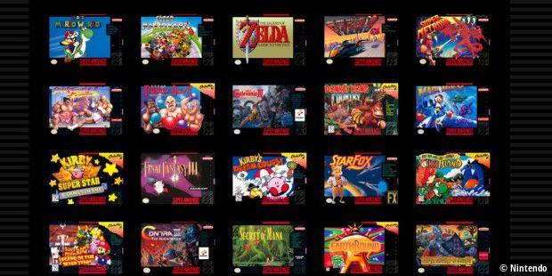 Diese 20 Spiele-Klassiker plus eine Neuveröffentlichung sind dabei.