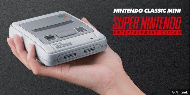 Nintendo verkauft Nintendo Classic Mini SNES ab 29.9.