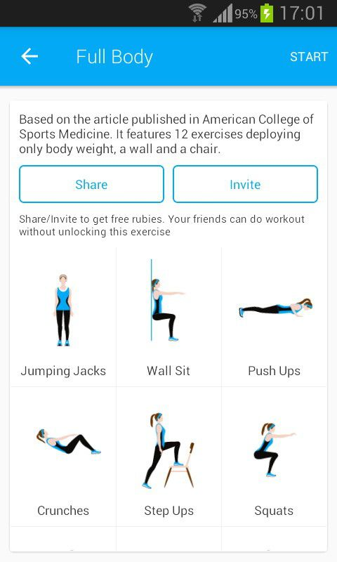 Elegant Perfect Workout   Free Fitness