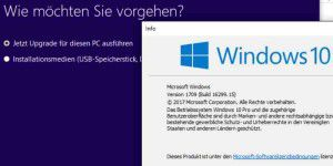 Windows 10 Herbst-Update per Trick früherer Download